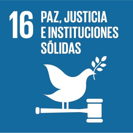 Objetivo de desarrollo sostenible 16:paz, justicia