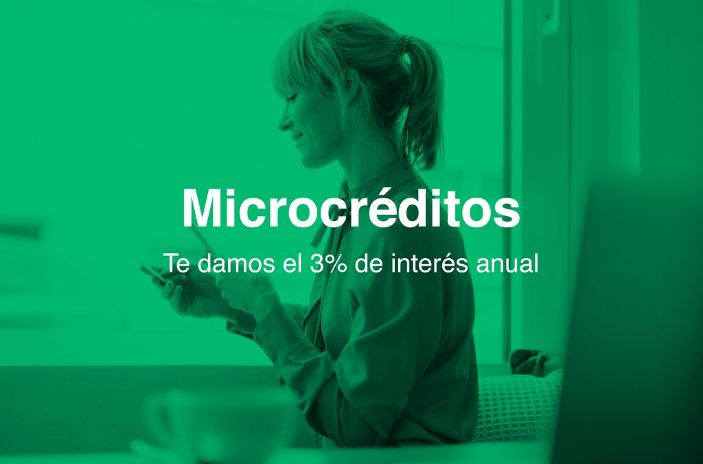 microcréditos verdes. Financiación Plan de Transformación Ecológica y Digital