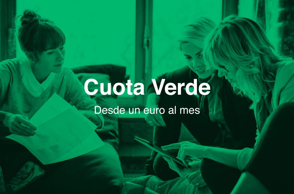 cuota verde. Financiación Plan de Transformación Ecológica y Digital